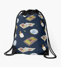 Fortune teller Drawstring Bag