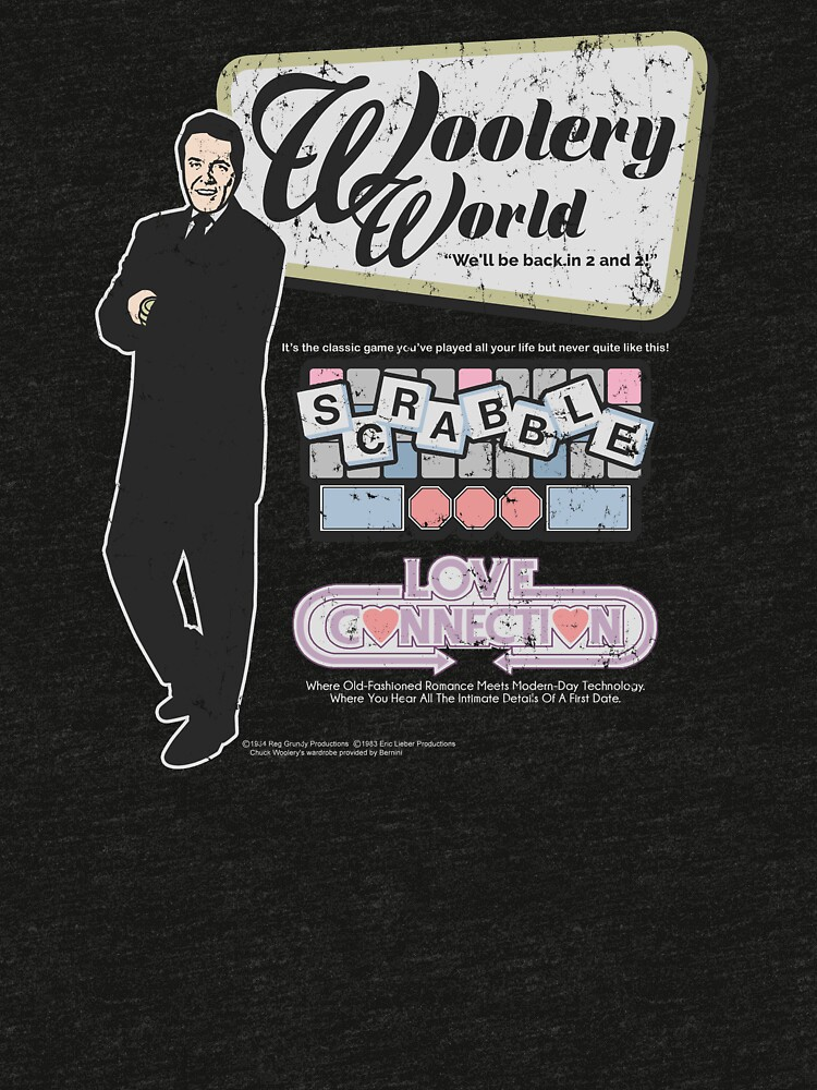 Woolery World (distressed)   Tri-blend T-Shirt