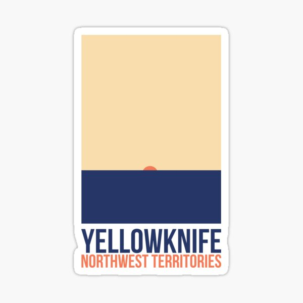 Yellowknife Sticker