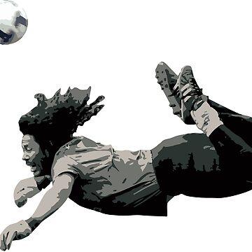 Rene Higuita's Scorpion kick by opngoo