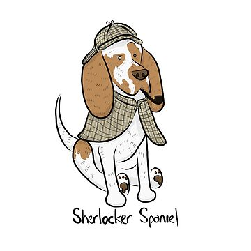 Sherlocker Spaniel by GiddingsGifts