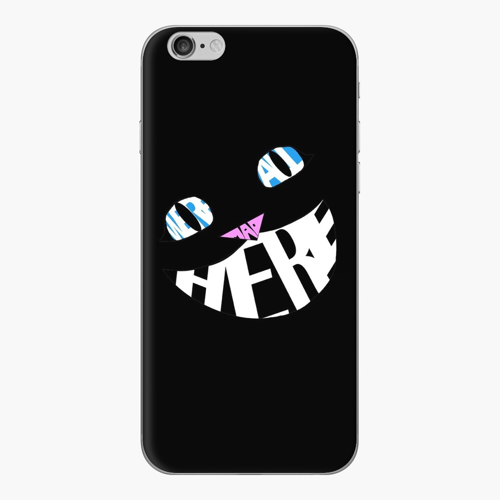 We're All Mad Here iPhone Cases & Covers
