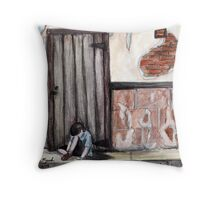 """Alone, by Naomi Frost""  Throw Pillow"