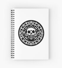 Cuaderno de espiral Cortes aztec gold.