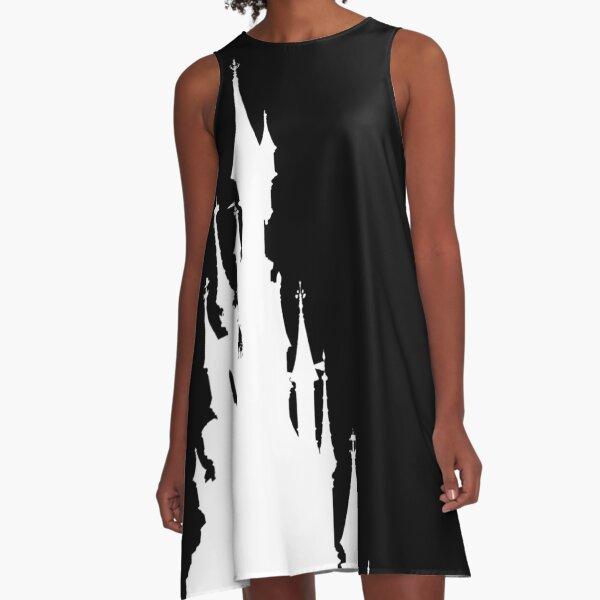 Magic Castle Silhouette Paris A-Line Dress