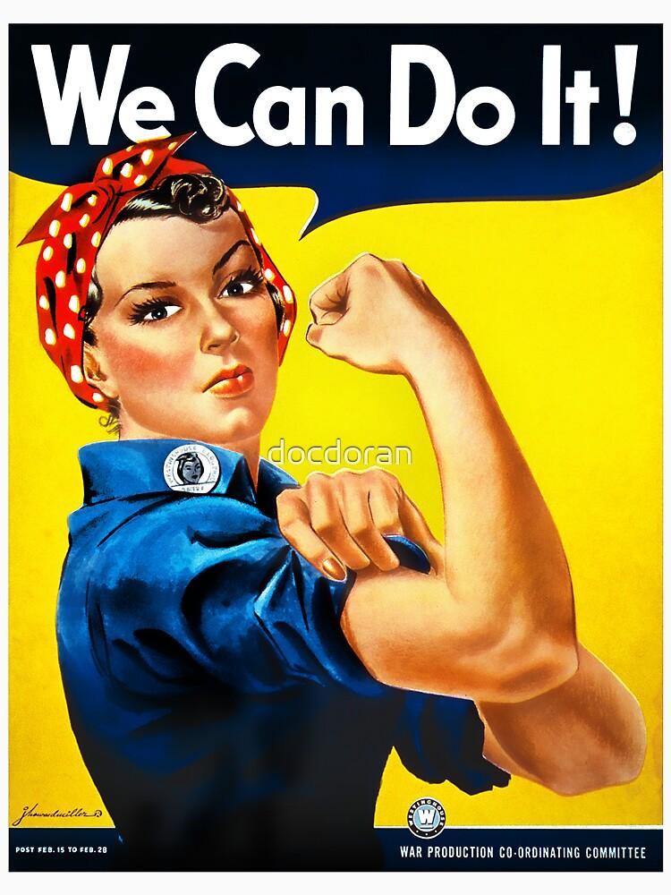Rosie the Riveter - US World War II Propaganda Poster | Unisex T-Shirt