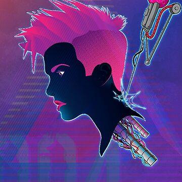 Cyber chick 004 by GreyMatter