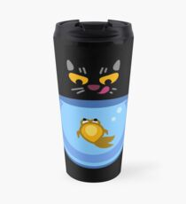 Funny Catfish Tshirt and Stickers - Cat Gifts for Catfish lovers everywhere! Travel Mug