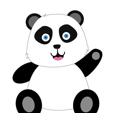 Cartoon Panda  by SuperUberLame