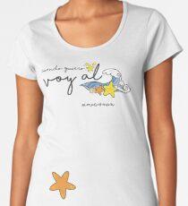 Cuando quiero estrellas voy al mar Women's Premium T-Shirt