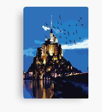Mont Saint-Michel FRANCE Canvas Print