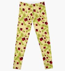 Butter Beauty and the Beets Leggings
