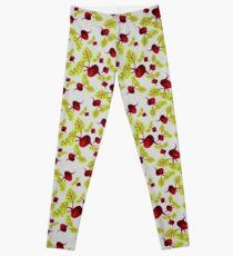 Graying Beauty and the Beets Leggings