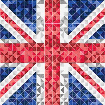 Graphic UK Flag by Mommylife