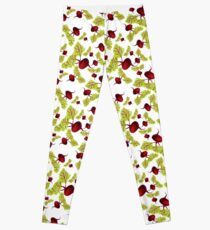 Beauty and the Beets Leggings