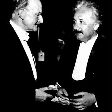 Max Planck x Albert Einstein by opngoo