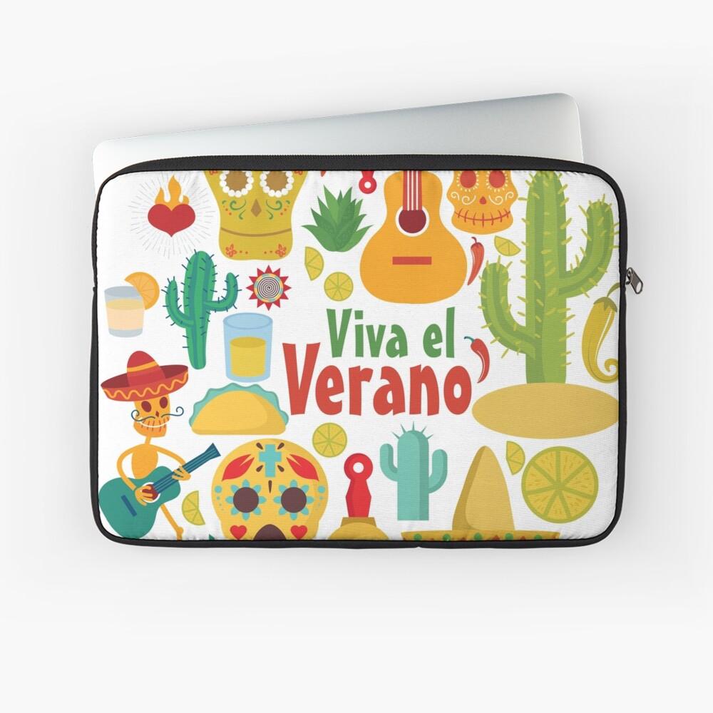 Viva el Verano Laptop Sleeve