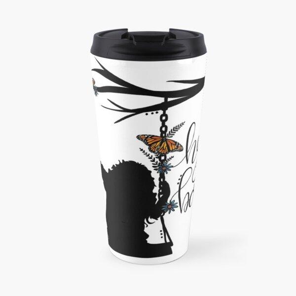 To Kill A Mockingbird, inspired silloette - Hey, Boo. Travel Mug