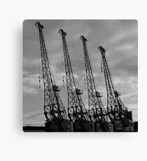 Bristol Cranes Canvas Print