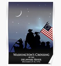 Washington Crossing Poster