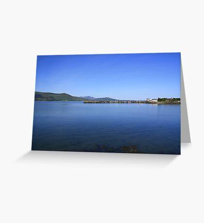 Carlingford Lough Greeting Card