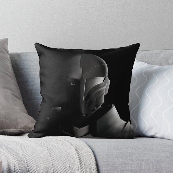 Dark Arcann -- Force Light Series #5 Throw Pillow