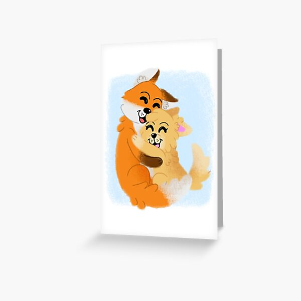 Willow and Scraps Greeting Card