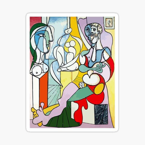 Pablo Picasso The Sculptor, 1931 Artwork Reproduction Sticker