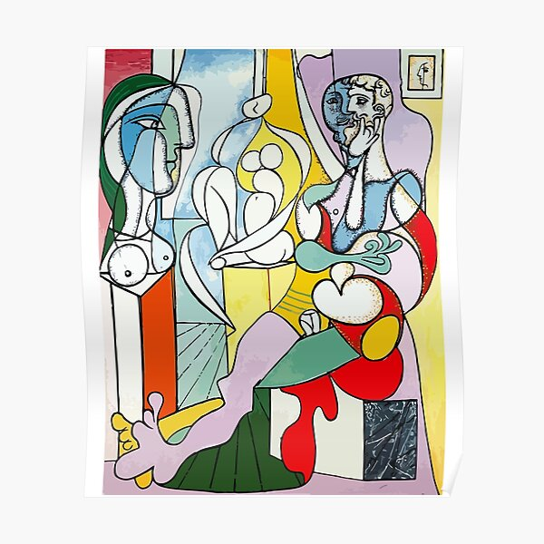 Pablo Picasso The Sculptor, 1931 Artwork Reproduction Poster