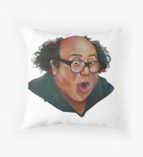 Legally Distinct Philadelphia Celebrity Throw Pillow