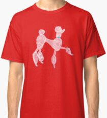 Pink Poodle  Classic T-Shirt