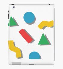 shapes iPad Case/Skin