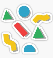 shapes Sticker