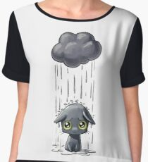 Cat Having A Bad Day Chiffon Top