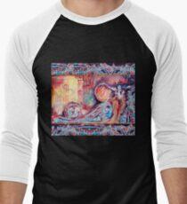 QUEEN OF ARCADIA Fantasy Collection Men's Baseball ¾ T-Shirt