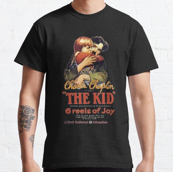 Charlie Chaplin The Kid Película Camiseta clásica