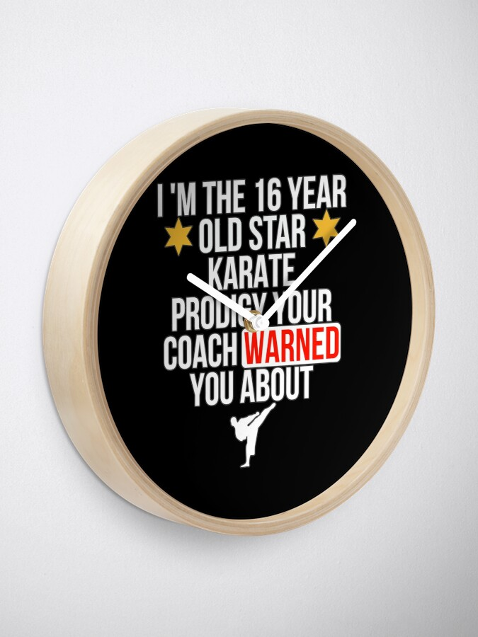 Alternative Ansicht von 16 Year old Karate Star player Uhr