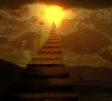 Stairway to Paradise... by Valerie Anne Kelly