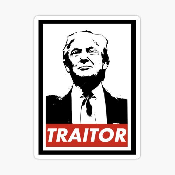 Trump the Traitor Sticker