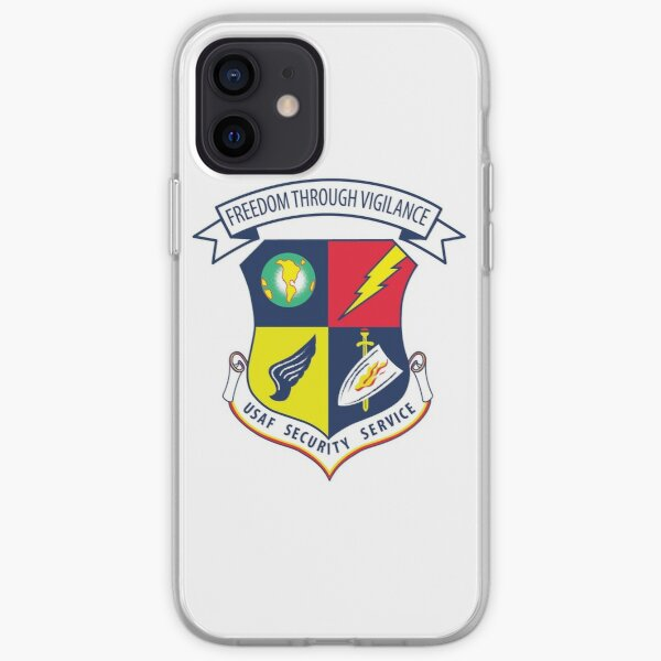 Freedom Through Vigilance USAFSS iPhone Soft Case