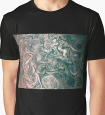 Jupiter Abstract Painting Graphic T-Shirt