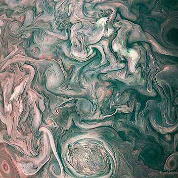 Jupiter Abstract Painting by EyeMagined