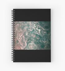 Jupiter Abstract Painting Spiral Notebook