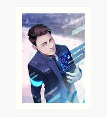 My Name is Connor Art Print