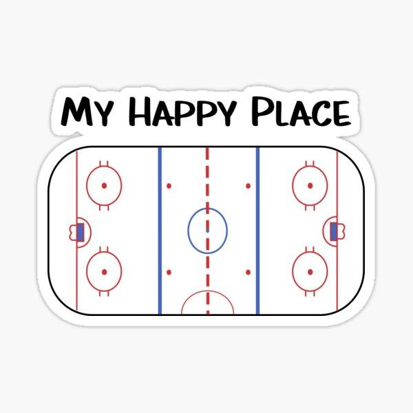 My happy place Sticker