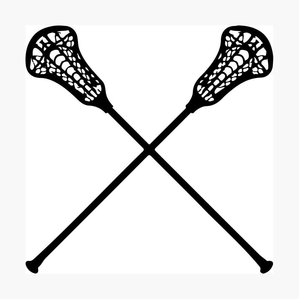 Lacrosse-Stöcke Fotodruck