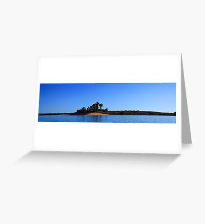 Sams Island Greeting Card