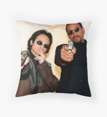 The Laundrymen Throw Pillow