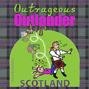 Outrageous Outlander logo by jennyjeffries