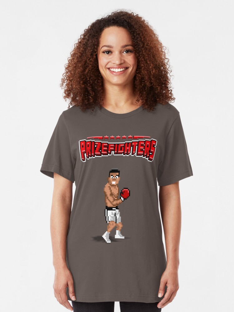 Alternate view of Prizefighters Logo and Icon Slim Fit T-Shirt